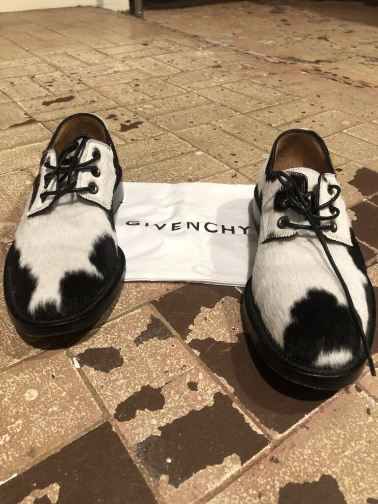 Cowhide brogues size 6